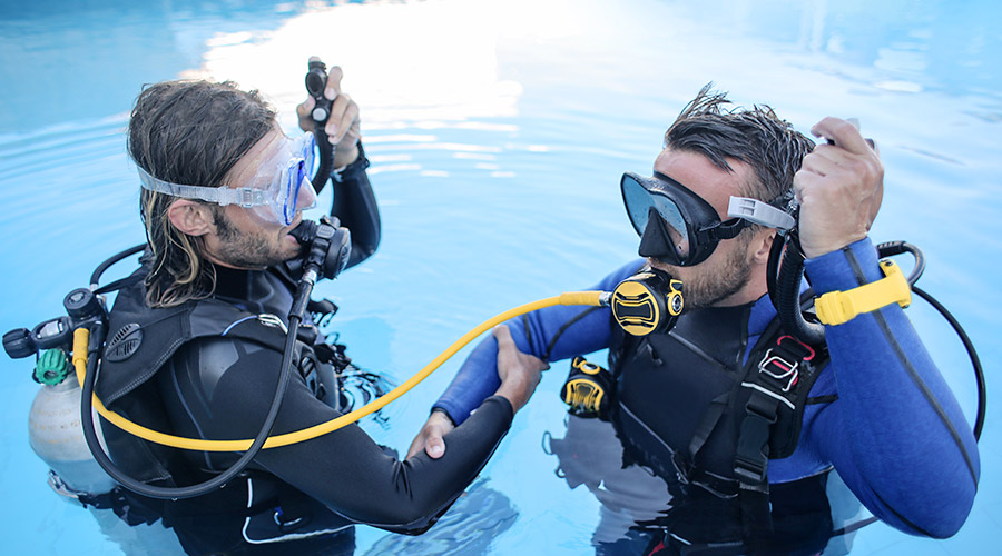 E-learning PADI Core Training Inset