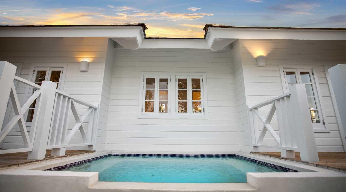 1 Bedroom Villa: Rock House inset 1