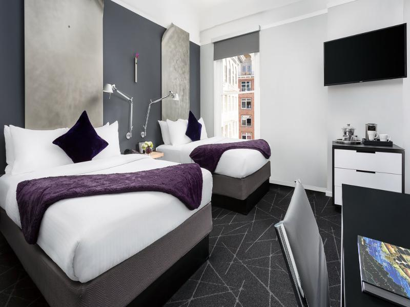 Deluxe Room   Two Double Beds. Luxury Accommodations San Francisco   Rooms at Hotel Diva