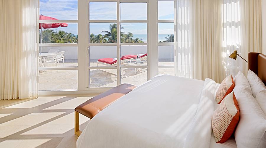 Miami Beach Hotel Accommodations | Rooms at Bentley Hotel